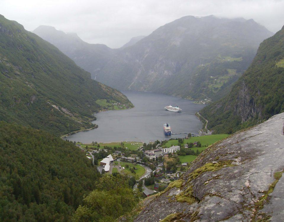 Geiranger, Fjord in Norwegen