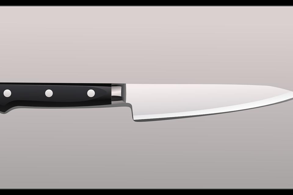 ein Küchenmesser