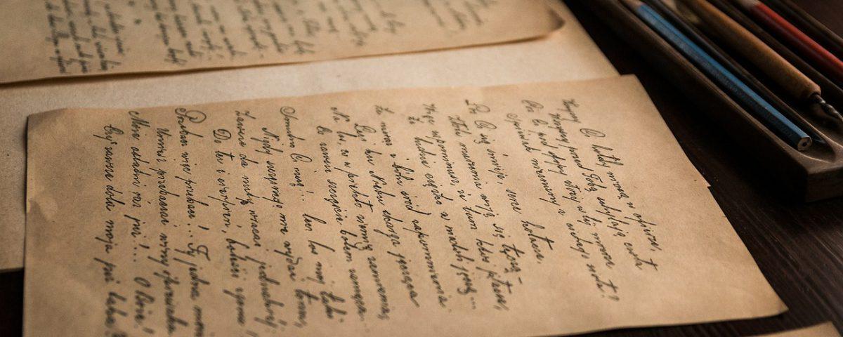 alte Briefe in Kurrent / Altdeutscher Schrift